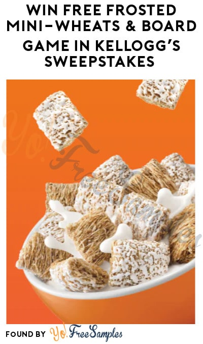 Win FREE Frosted Mini-Wheats & Board Game in Kellogg's Sweepstakes (Account Required)