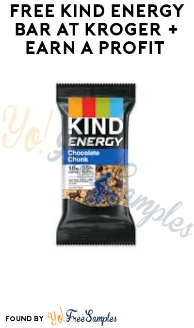 FREE Kind Energy Bar at Kroger + Earn A Profit (Account & Ibotta Required)