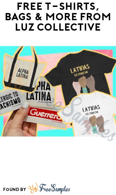 FREE T-Shirts, Bags & More from Luz Collective (Referring Required)