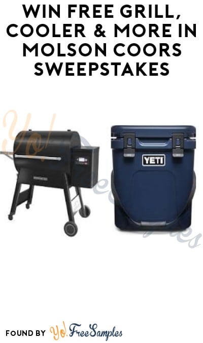 Win FREE Grill, Cooler & More in Molson Coors Sweepstakes (Select States + Ages 21 & Older Only)