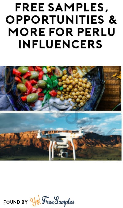 FREE Samples, Opportunities & More for Perlu Influencers (Must Apply)