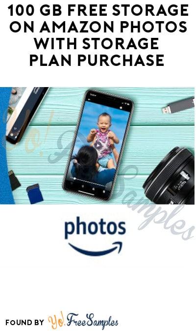 100 GB FREE Video Storage on Amazon Photos with Storage Plan Purchase (Select Prime Members Only)