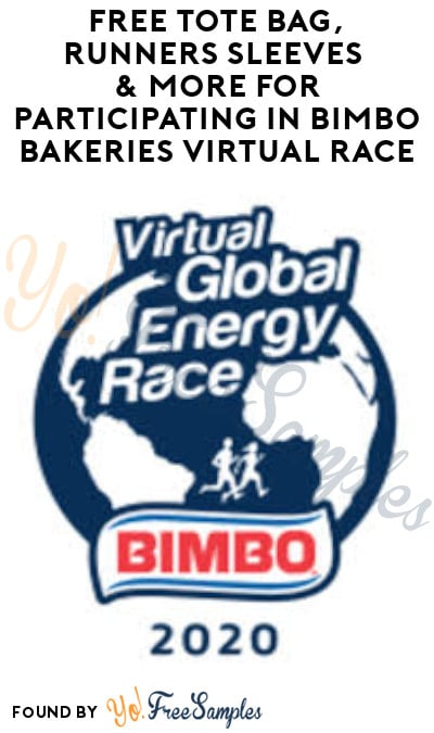 FREE Tote Bag, Runners Sleeves & More for Participating in Bimbo Bakeries Virtual Race