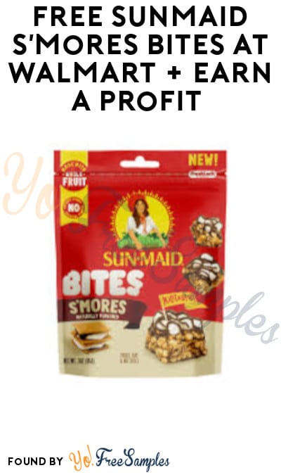 FREE Sunmaid S'Mores Bites at Walmart + Earn A Profit (Ibotta, Fetch Rewards & Shopkick Required)