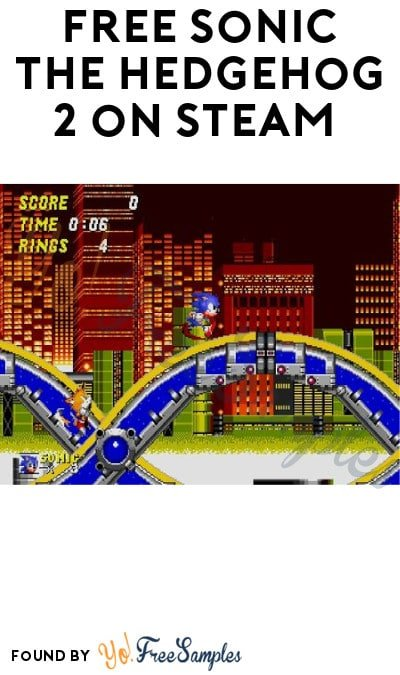 FREE Sonic The Hedgehog 2 on Steam (Account Required)