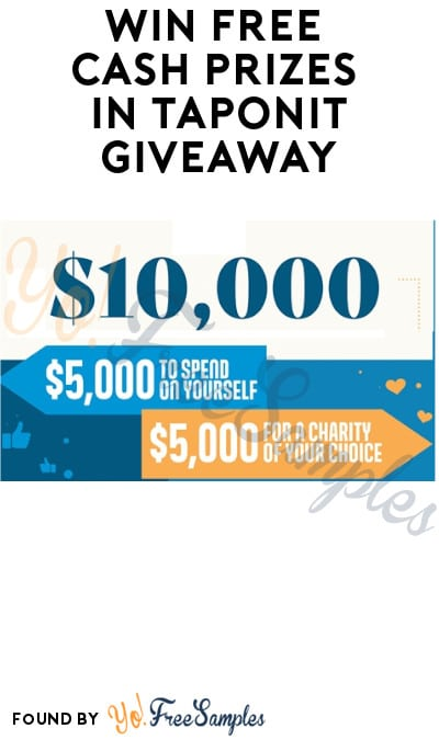 Win FREE Cash Prizes in TapOnIt Giveaway