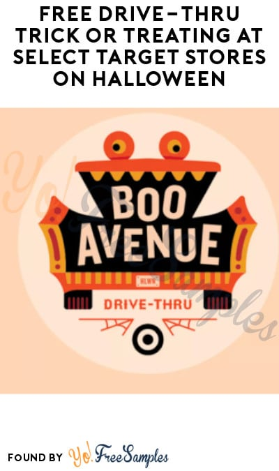 FREE Drive-Thru Trick or Treating at Select Target Stores on Halloween