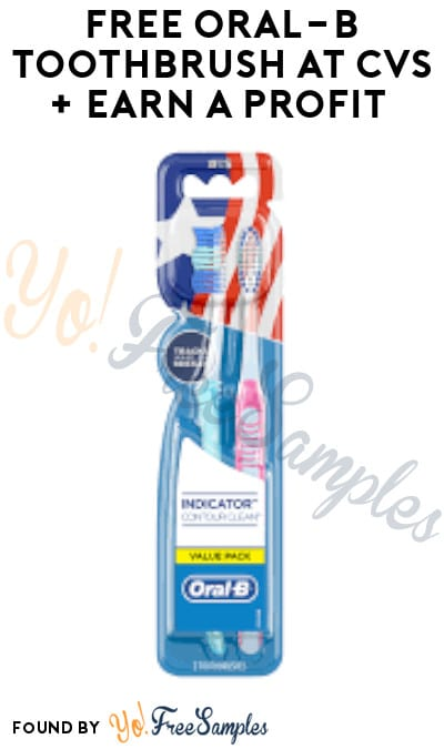 FREE Oral-B Toothbrush at CVS + Earn A Profit (Coupon & Ibotta Required)