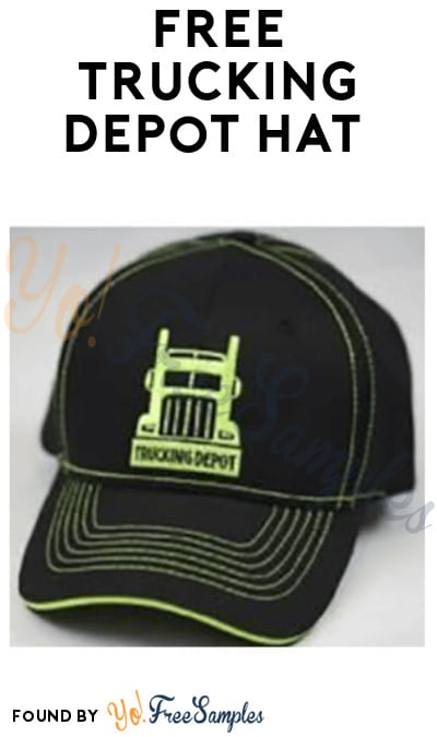 Possible FREE Trucking Depot Hat (Sign Up Required)