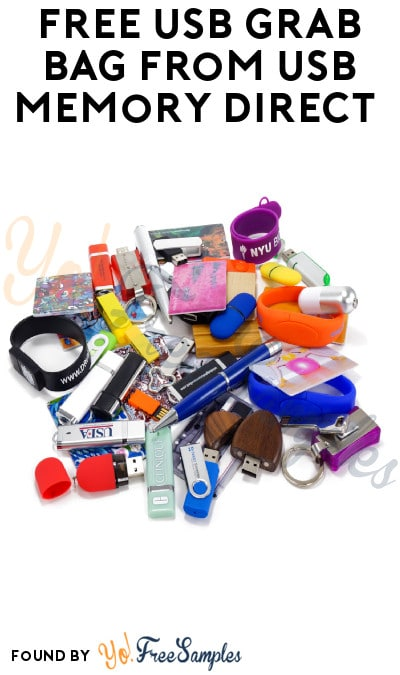 Restocks Every Friday: FREE USB Grab Bag from USB Memory Direct