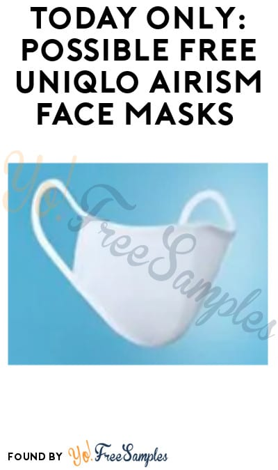 Today Only: Possible FREE Uniqlo AIRism Face Masks (App Required + In-Stores Only)