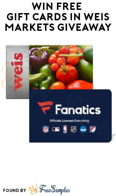 Win FREE Gift Cards in Weis Markets Giveaway (Select States Only)