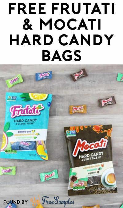 FREE Frutati & Mocati Hard Candy Bags