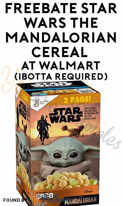FREEBATE Star Wars The Mandalorian Cereal At Walmart (Ibotta Required)