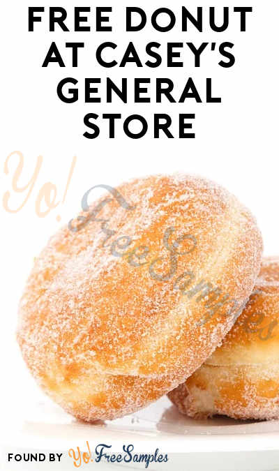 FREE Donut At Casey's General Store (Select Areas / Mobile App Required)