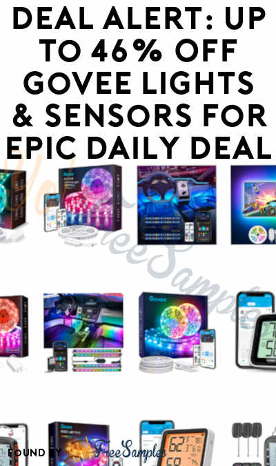 DEAL ALERT: Up to 46% Off Govee Lights & Sensors For Epic Daily Deal