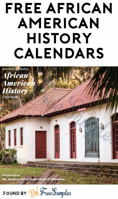 FREE African American History 2021 Calendars (Schools & Companies Only)