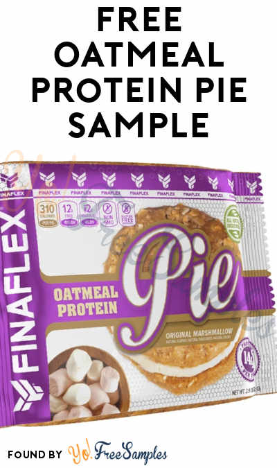 FREE Oatmeal Protein Pie Sample