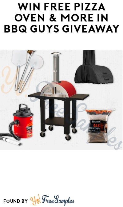 Win FREE Pizza Oven & More in BBQ Guys Giveaway