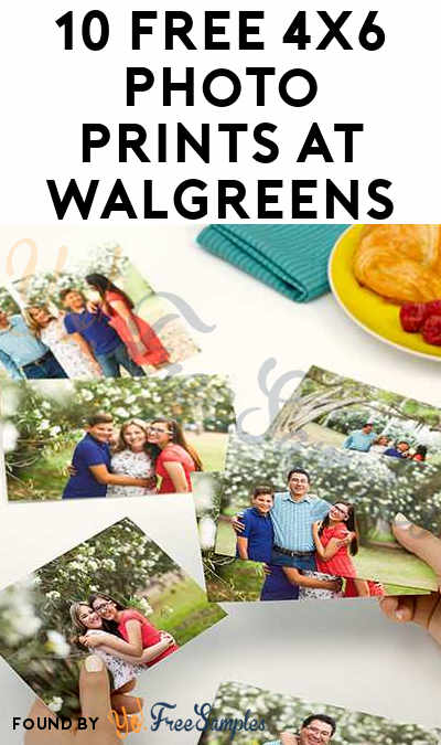 10 FREE 4X6 Photo Prints At Walgreens From 1-3PM EST Today 10/14 Only