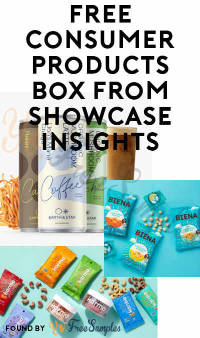 FREE Consumer Products Box From Showcase Insights (Must Apply)