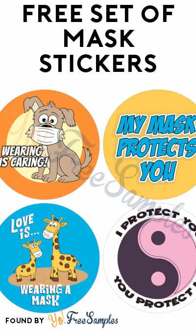 FREE Set of Mask Stickers