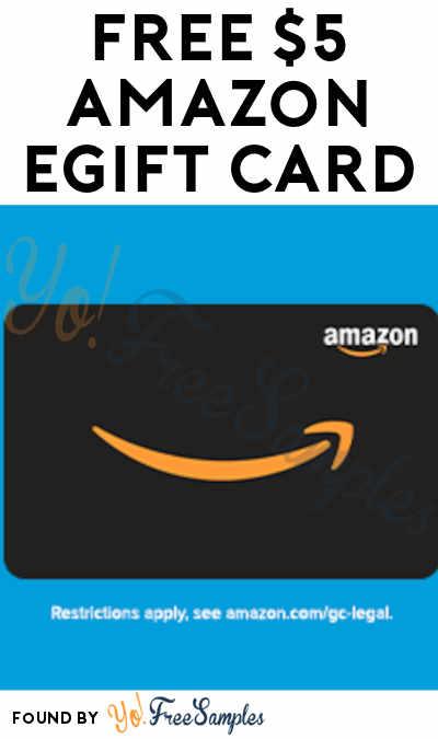 FREE $5 Amazon eGift Card