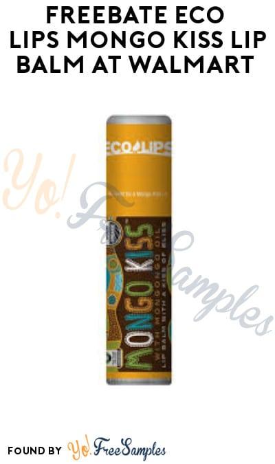 FREEBATE Eco Lips Mongo Kiss Lip Balm at Walmart (Ibotta Required)
