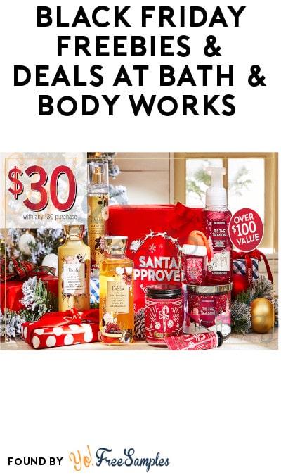 Black Friday FREEBIES & DEALS at Bath & Body Works 2020