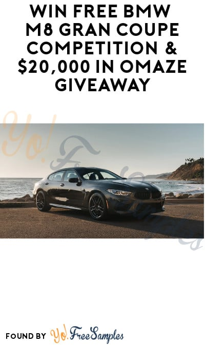 Win FREE BMW M8 Gran Coupe Competition & $20,000 in Omaze Giveaway