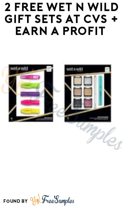 2 FREE Wet n Wild Gift Sets at CVS + Earn A Profit (Account/ Coupon Required)