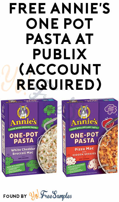 FREE Annie's One Pot Pasta at Publix (Account Required)