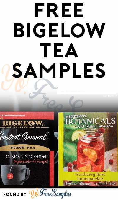 FREE Bigelow Tea Samples