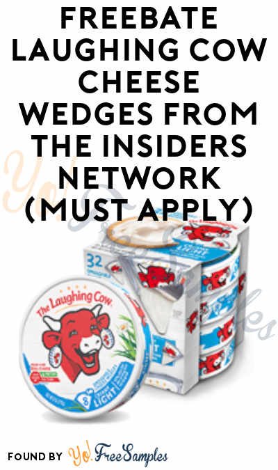FREEBATE Laughing Cow Cheese Wedges At BJ's From The Insiders Network (Must Apply)