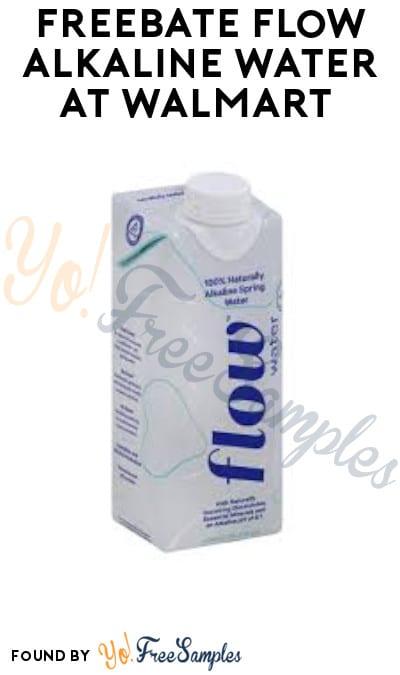 FREEBATE Flow Alkaline Water at Walmart (Ibotta Required)