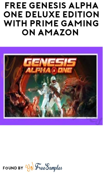 FREE Genesis Alpha One Deluxe Edition with Prime Gaming on Amazon