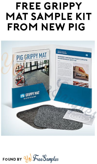 FREE Grippy Mat Sample Kit from New Pig