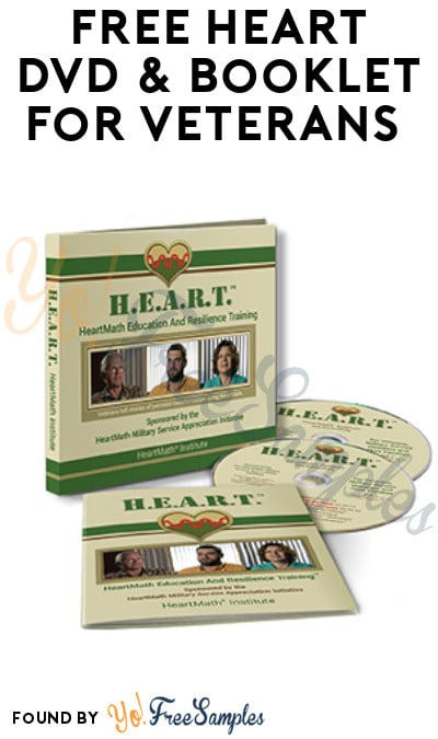 FREE Heart DVD & Booklet for Veterans (Email or Call Required)