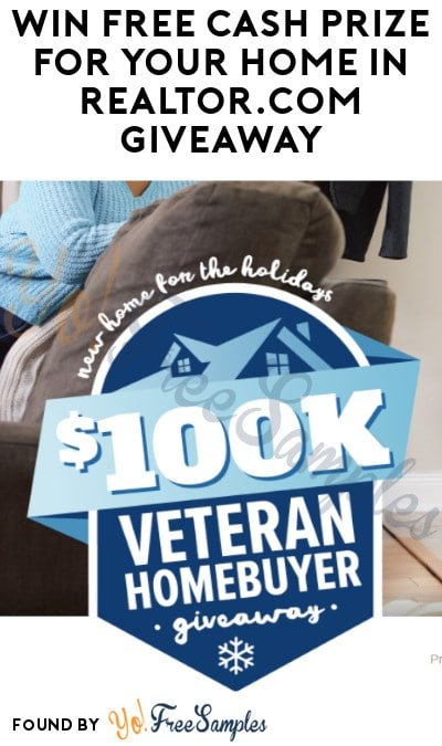 Win FREE Cash Prize For Your Home in Realtor.com Giveaway (Military/ Veterans Only)
