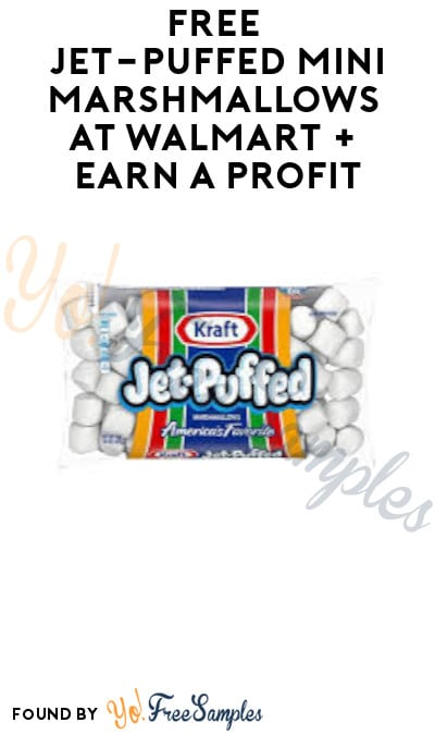 FREE Jet-Puffed Mini Marshmallows at Walmart + Earn A Profit (Coupons.com App & Ibotta Required)