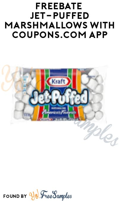 FREEBATE Jet-Puffed Marshmallows with Coupons.com App