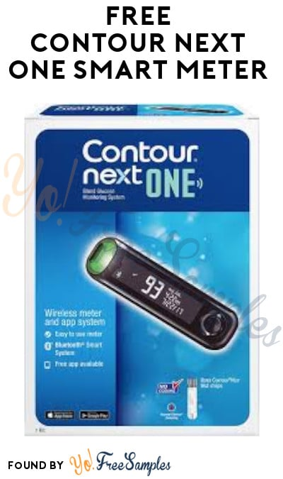 FREE Contour Next One Smart Meter (Purchase Required)