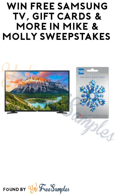 Win FREE Samsung TV, Gift Cards & More in Mike & Molly Sweepstakes