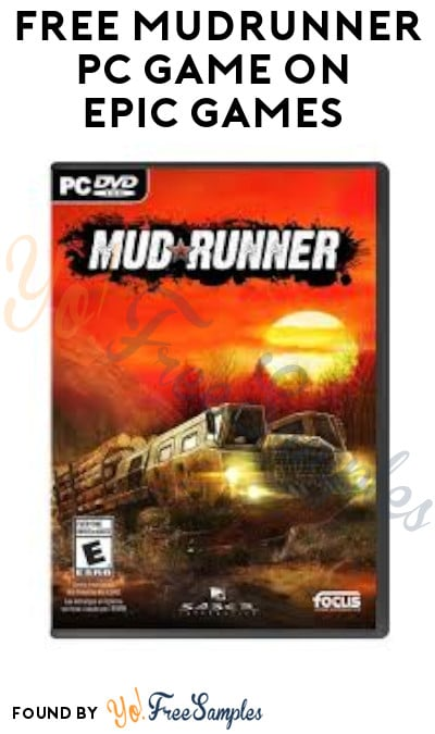 FREE MudRunner PC Game on Epic Games (Account Required)