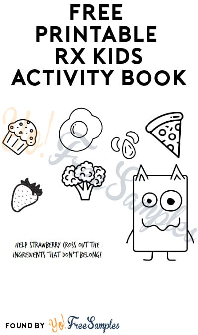FREE Printable RX Kids Activity Book