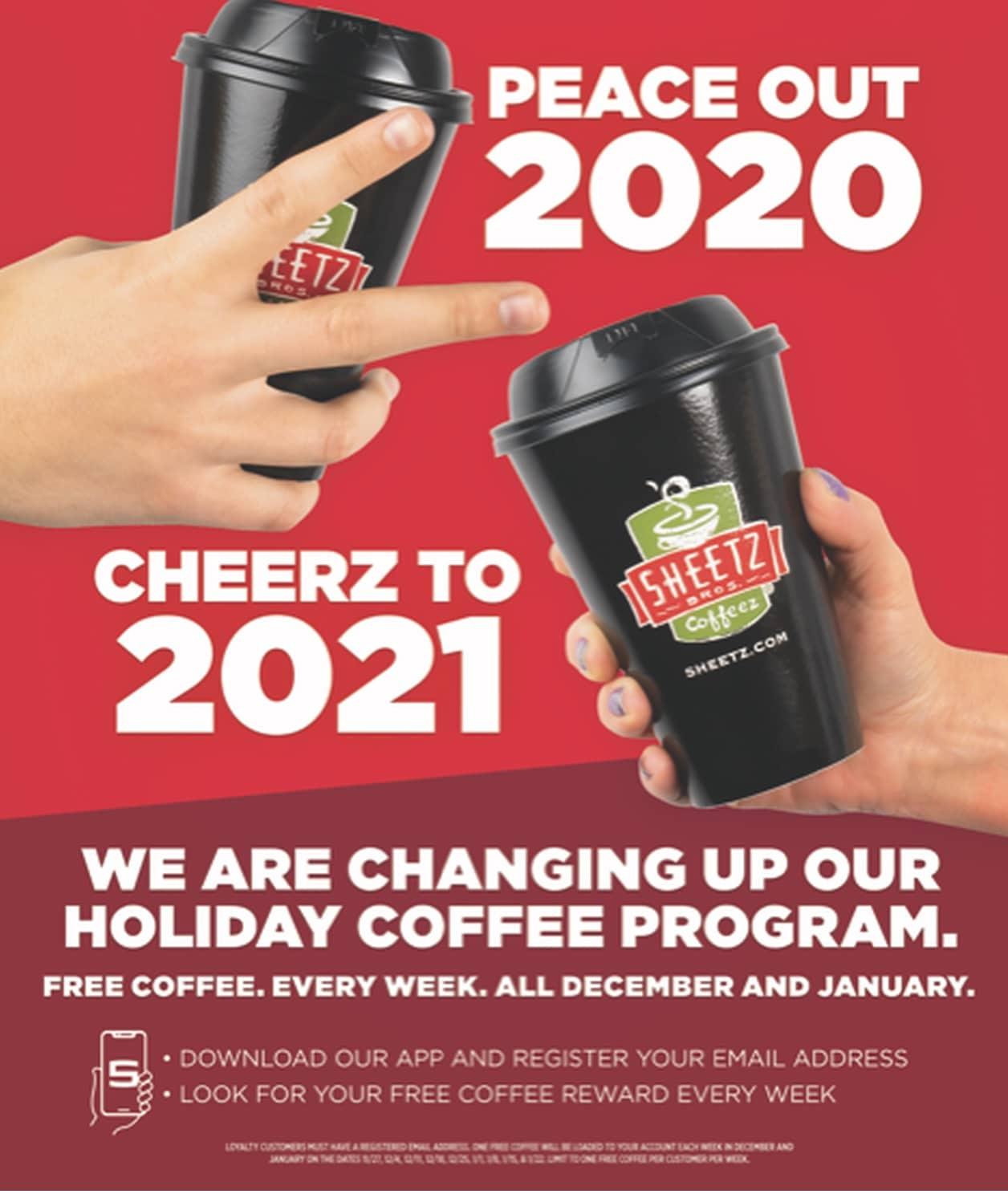 Sheetz Coffee Offer