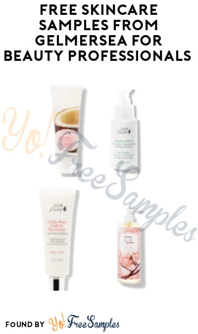 FREE Skincare Samples from Gelmersea for Beauty Professionals (Email Required)