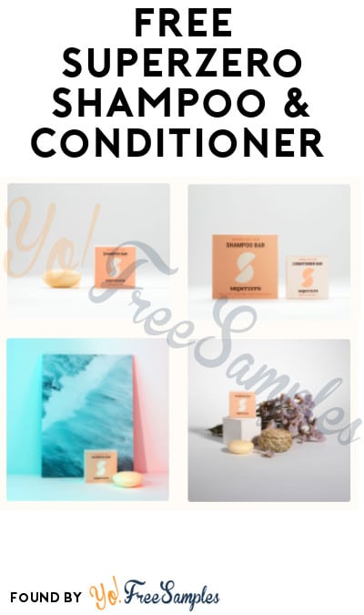 FREE Superzero Shampoo & Conditioner (Referring Required)