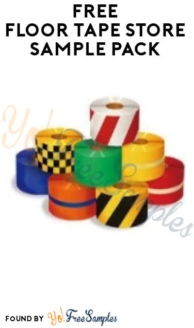 FREE Floor Tape Store Sample Pack (Company/ Organization Name Required)