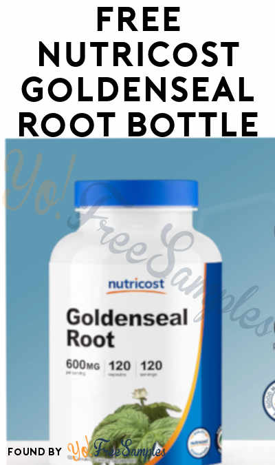FREE Nutricost Goldenseal Root Bottle